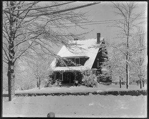 J. F. Talbot house after snow