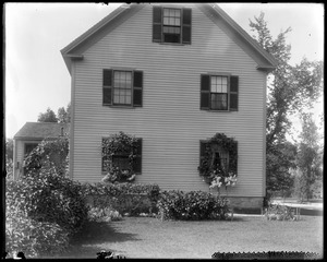 #80 Wilson Street, end view, showing window boxes