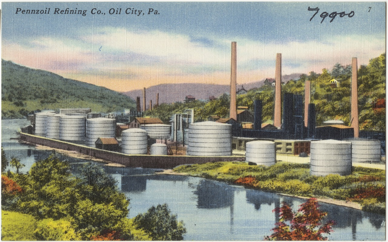 Pennzoil Refining Co Oil City Pa Digital Commonwealth