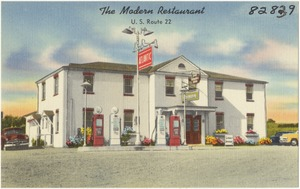 The Modern Restaurant, U.S. Route 22