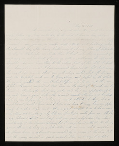 Letter from E.C. Norton to Mary Sanborn Fifield, 1841 May 12