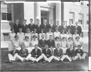 Westborough High School Class of 1924