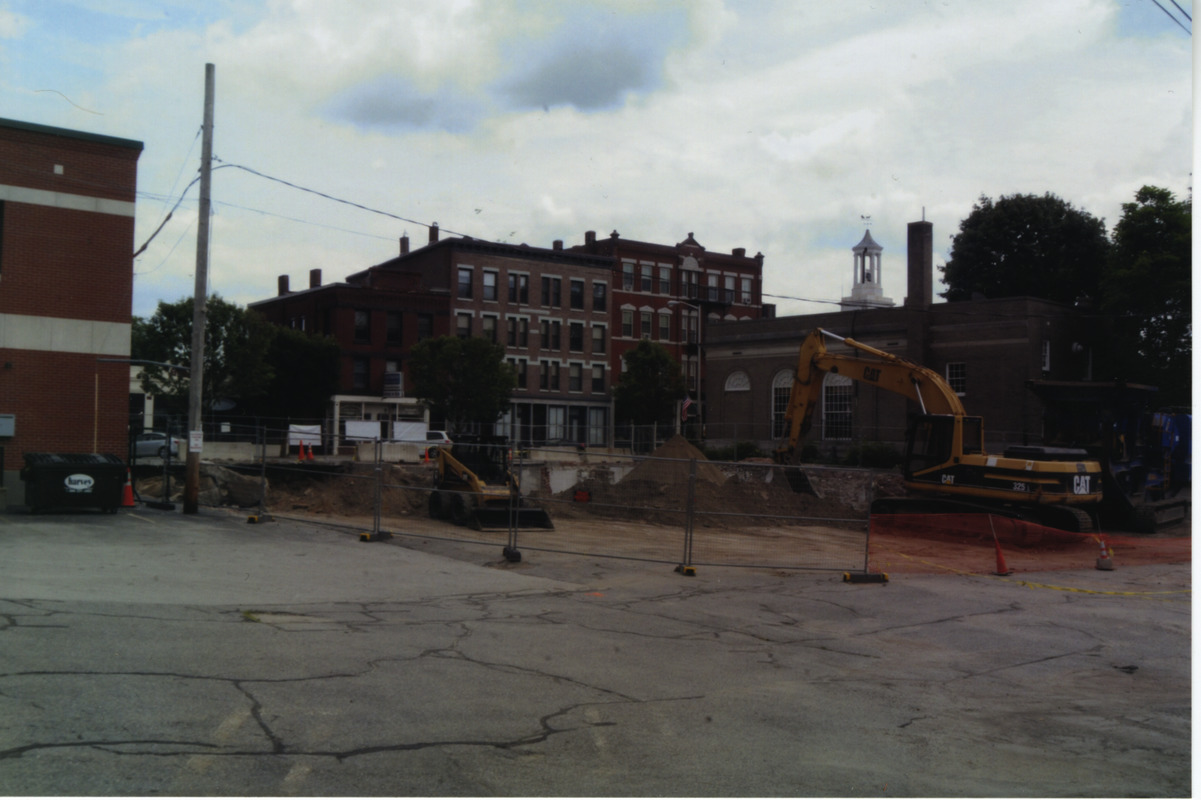 25 West Main Street under construction