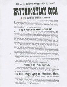 """Dr. J. H. Hero's Compound Extract Erythroxylon Coca"""