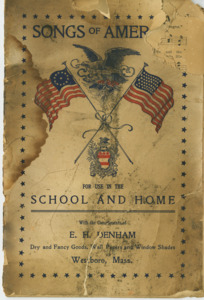 """Songs of America for use in the school and home"""