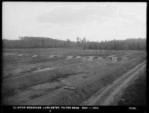 Clinton Sewerage, filter-beds, Lancaster, Mass., Nov. 1, 1904