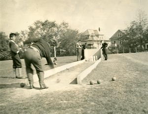 Outdoor Candlepin Bowling