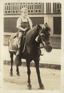 Arthur Hatch on a Horse
