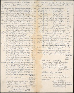 Town House Committees, 1840-1849