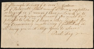 Petitions for New Roads, 1756-1845