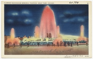 Clarence Buckingham Memorial Fountain, Grant Park, Chicago