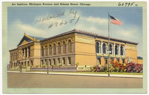 Art Institute, Michigan Avenue and Adams Street, Chicago