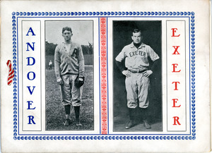 Annual Andover vs Exeter baseball game 1906, Sarah (Sallie) M. Field, Abbot Academy, class of 1904