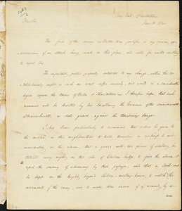 William Bainbridge to John Brooks, June 13, 1814