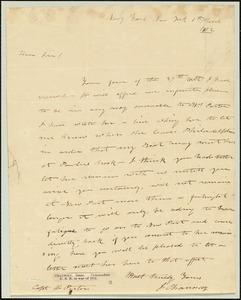 Isaac Chauncey to David Porter, March 1, 1812