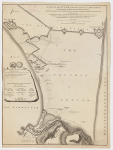 A plan of the attack made Nov.ber 27t. 1781