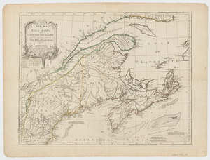 A new map of Nova Scotia and Cape Breton Island