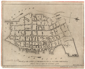 Plan of the city of Charleston, South Carolina
