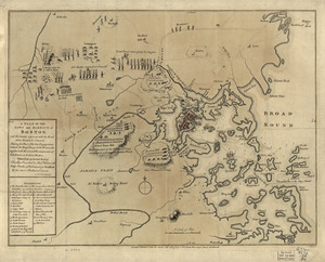 A plan of the town and harbour of Boston