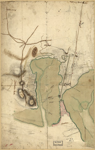 [Plan of the Neck and environs]