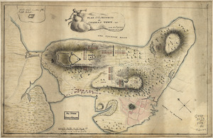 Plan of the heights of Charles Town, &c