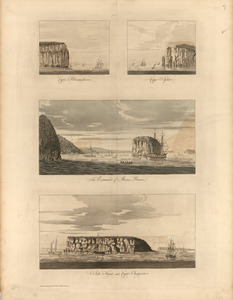 Cape Blowmedown ; Cape Split ; The entrance of Mines Bason ; Isle Haut and Cape Chegnecto