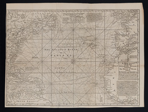 A new chart of the vast Atlantic Ocean