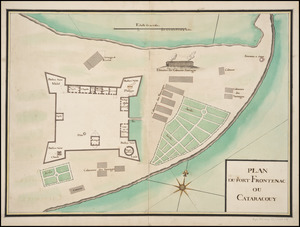 Plan du Fort Frontenac ou Cataracouy