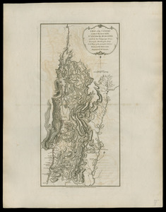 A map of the country in which the army under Lt. General Burgoyne acted in the campaign of 1777
