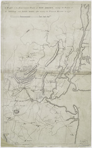 A plan of the northern part of New Jersey