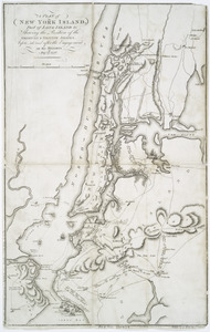 A plan of New York Island, part of Long Island &c