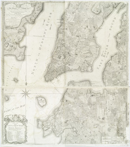 Plan of the city of New York in North America
