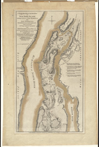 A topographical map of the northn. part of New York Island, exhibiting the plan of Fort Washington, now Fort Knyphausen, with the rebels lines to the southward, which were forced by the troops under the command of the Rt. Honble. Earl Percy, on the 16th Novr. 1776, and survey'd immediately after by order of his Lordship
