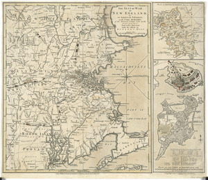 The seat of war in New England, by an American volunteer