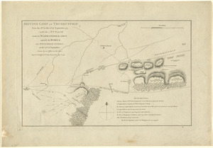 British camp at Trudruffrin from the 18th. to the 21st. of September 1777