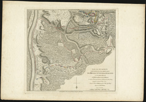 Plan of the encampment and position of the army under His Excelly. Lt. General Burgoyne at Swords House on Hudson's River near Stillwater on Septr. 17th, with the positions of that part of the army engaged on the 19th Septr. 1777