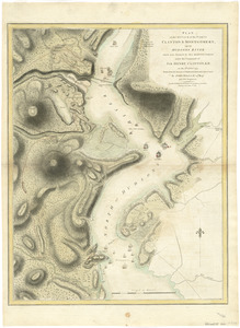Plan of the attack of the Forts Clinton & Montgomery, upon Hudsons River which were stormed by His Majestys forces under the command of Sir Henry Clinton, K.B., on the 6th of Octr. 1777 : drawn from the surveys of Verplank, Holland & Metcalfe