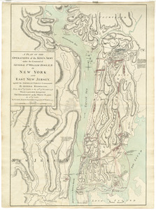 A plan of the operations of the King's army under the command of General Sr. William Howe, K.B. in New York and east New Jersey against the American forces commanded by General Washington, from the 12th. of October, to the 28th. of November 1776, wherein is particularly distinguished the engagement on the White Plains, the 28th. of October