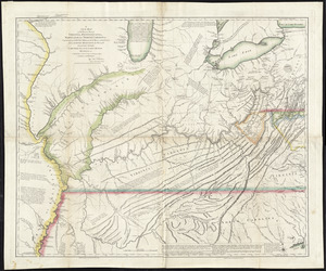A new map of the western parts of Virginia, Pennsylvania, Maryland and North Carolina