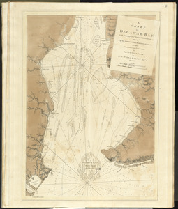 A chart of Delawar Bay, with soundings and nautical observations