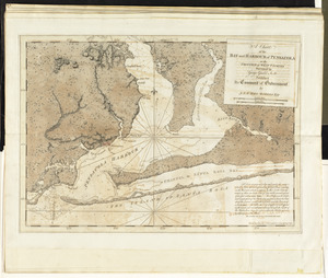 A chart of the bay and harbour of Pensacola in the Province of West Florida