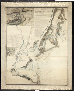A plan of New York Island, and part of Long Island, with the circumjacent country, as far as Dobbs's Ferry to the north, and White Plains to the east, including the rivers, islands, roads, &ca