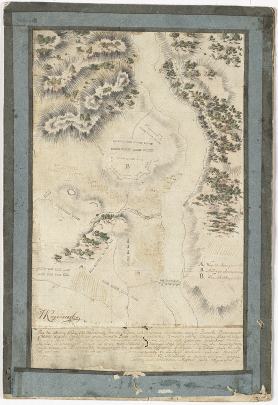 [Plan of the battles of Saratoga]