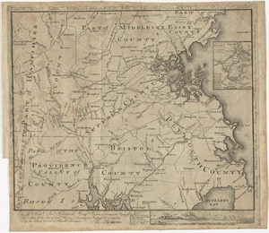 To the Hone. Jno. Hancock, Esqre. president of ye Continental Congress, this map of the seat of civil war in America, is respectfully inscribed by his most obedient humble servant