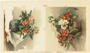 Two Florals on One Sheet
