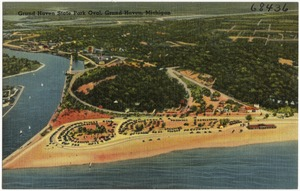 Grand Haven State Park oval, Grand Haven, Michigan