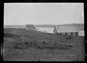 Boathouse. Possibly Jimmy Lee's at Tisbury Great Pond