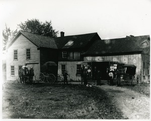 Gebo's blacksmith shop