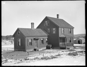 Sudbury Department, attendant's house, Hopkinton Dam, from south, Ashland, Mass., Feb. 17, 1898