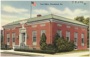 Post office, Woodstock, Va.